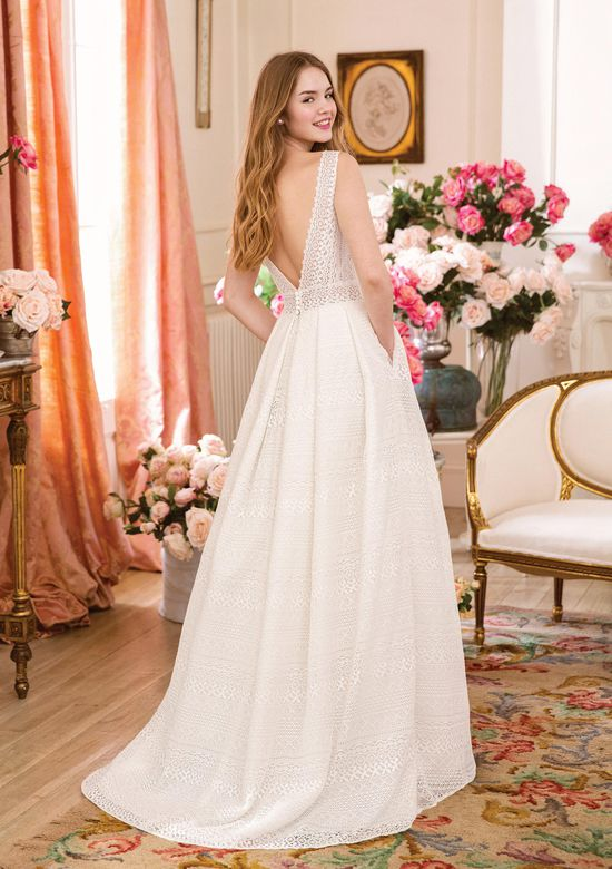 Sweetheart Gowns Style 11045 Allover Venice Lace A-line Gown