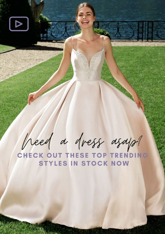 Sincerity Bridal top trending in-stock styles virtual trunk show