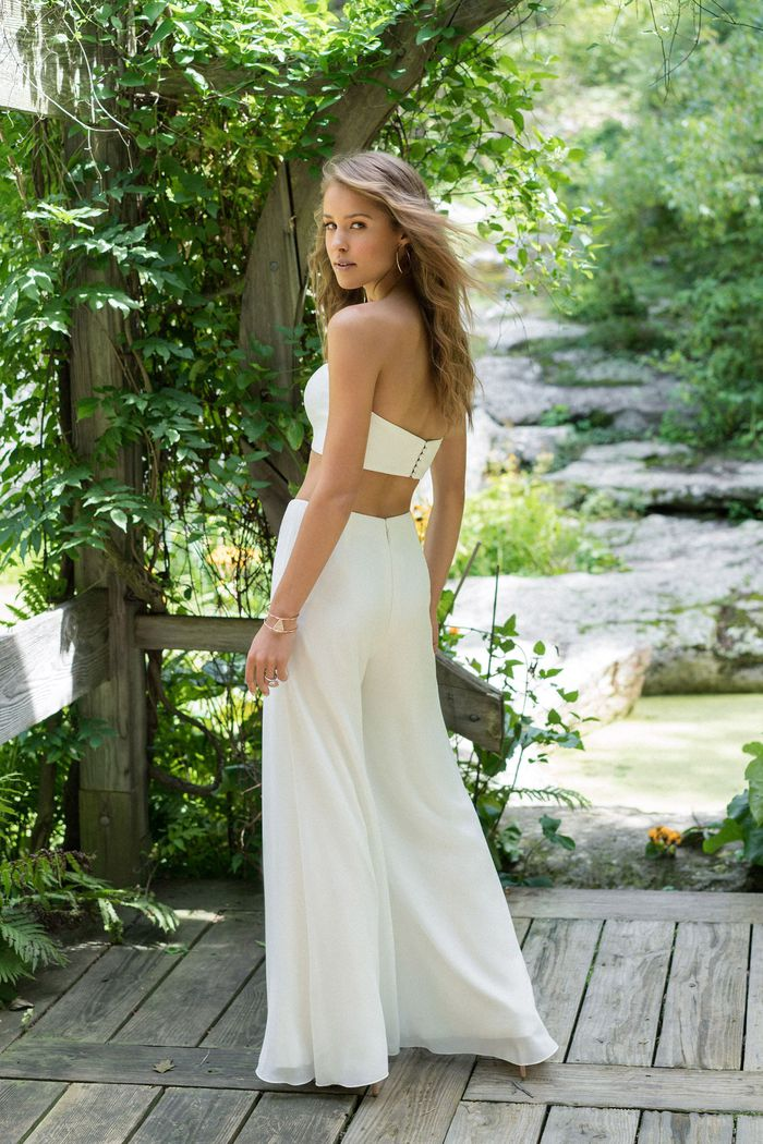Lillian West Style 66000BOD Simple Cropped Bodice