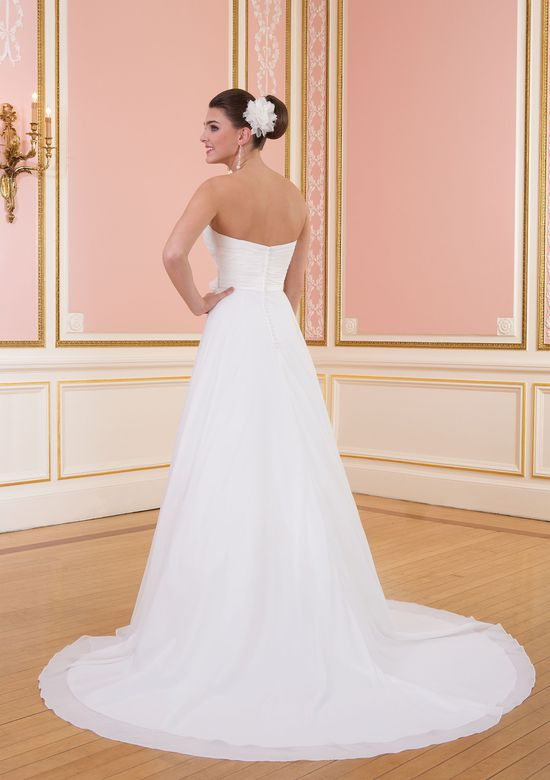 Sweetheart Gowns Style 6009 Strapless Chiffon Ball Gown