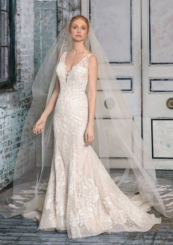 Justin Alexander Signature Style 99006V Embroidered Veil