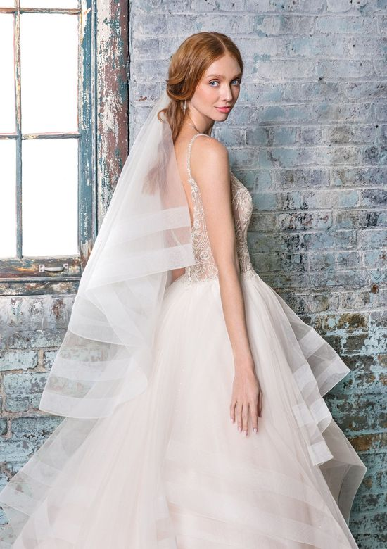 Justin Alexander Signature Style 99017V Double Horsehair Trimmed Veil