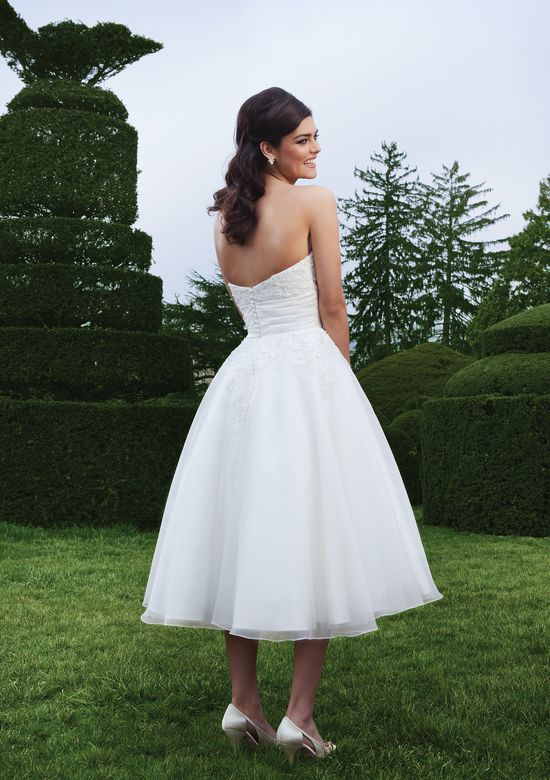 Sincerity Bridal Style 3749 Lace ball gown with a sweetheart neckline
