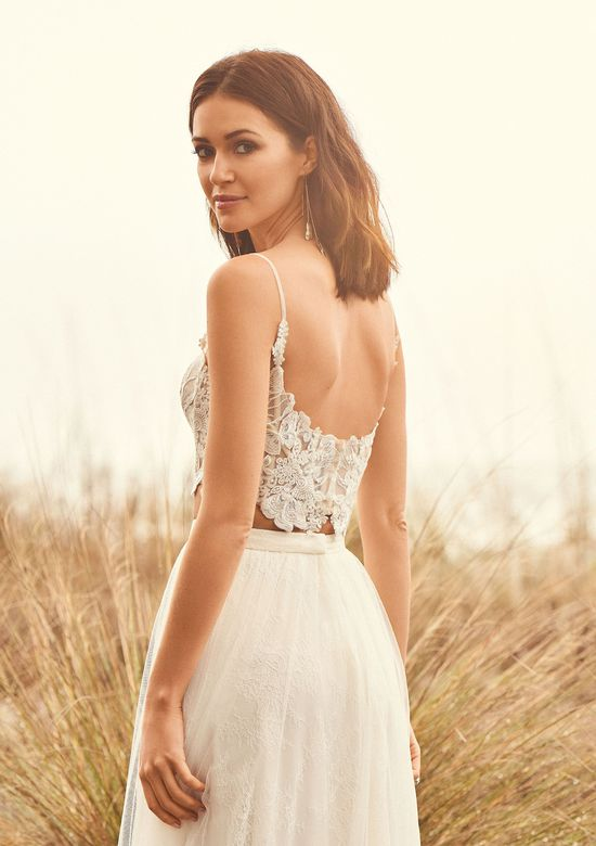 Lillian West Style 66090BOD Illusion Cropped Bodice