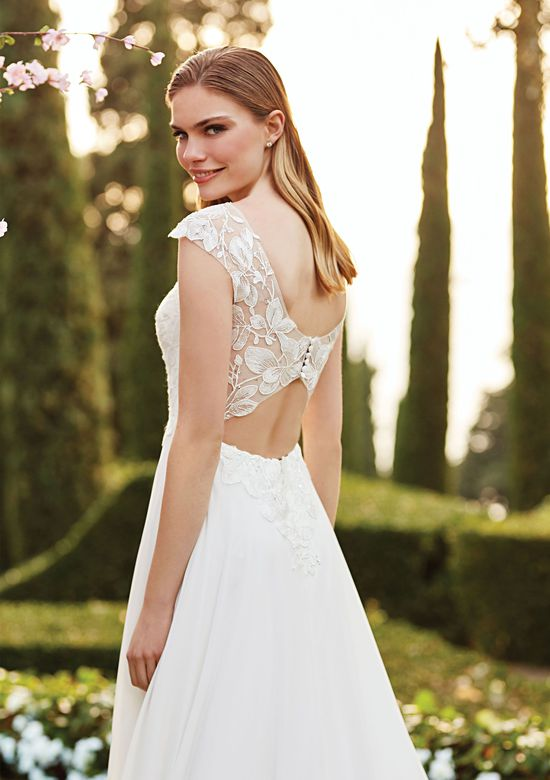 Sincerity Bridal Style 44159 Illusion Sabrina A-Line Gown
