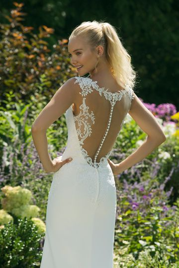 Sweetheart Gowns Style 11009 Sleeveless Fit and Flare with Sabrina Neckline