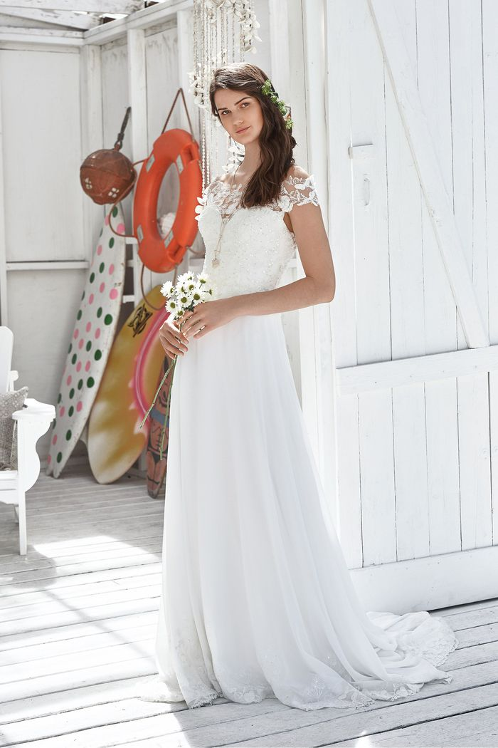 Lillian West Style 66037 Off the Shoulder Love Gown