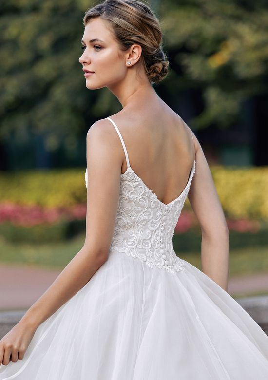 Sincerity style 44139 Bikini Neckline Beaded Venice A-Line Dress