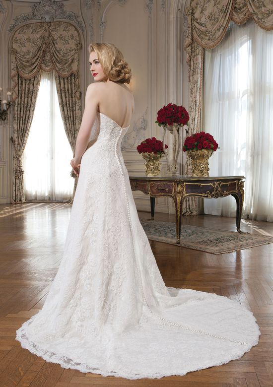 Justin Alexander Style 8627 Lace Sweetheart A-Line Wedding Dress