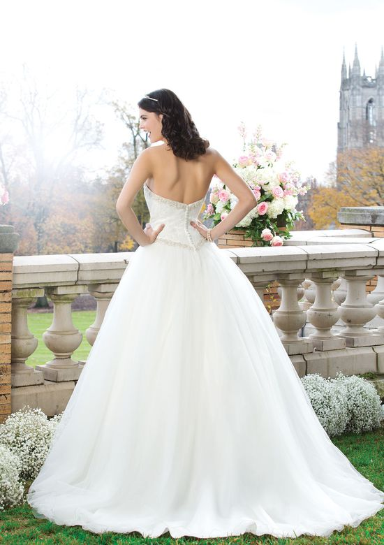 Sincerity Bridal Style 3765 Lace ball gown with a sweetheart neckline