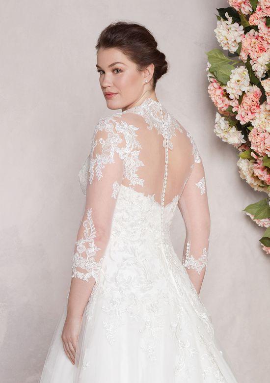 Sincerity Bridal Style 44095J Queen Anne Neckline Lace Jacket