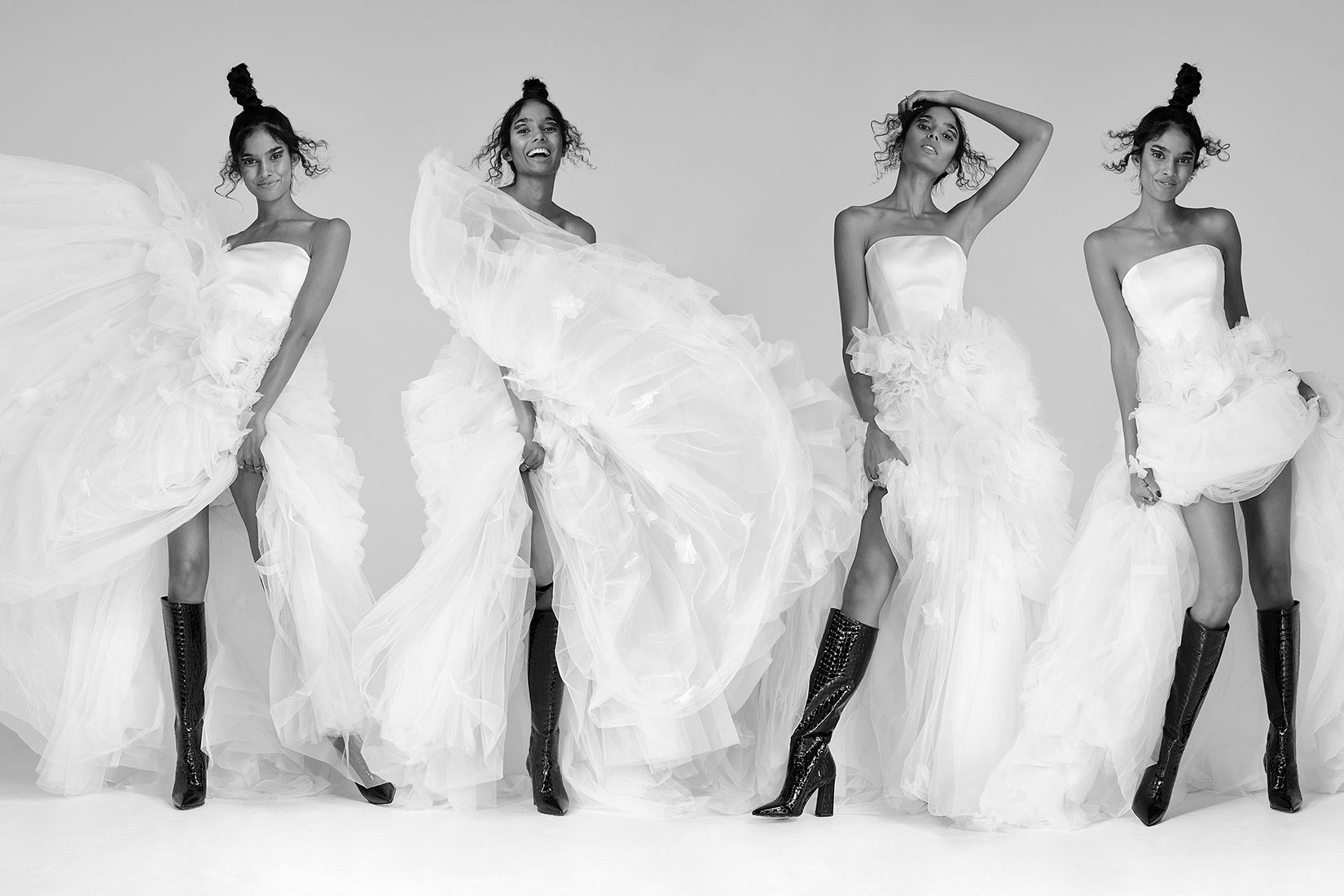 Justin Alexander Signature Style Bugambilia featured in the Spring Summer 2020 issue of Today's Bride