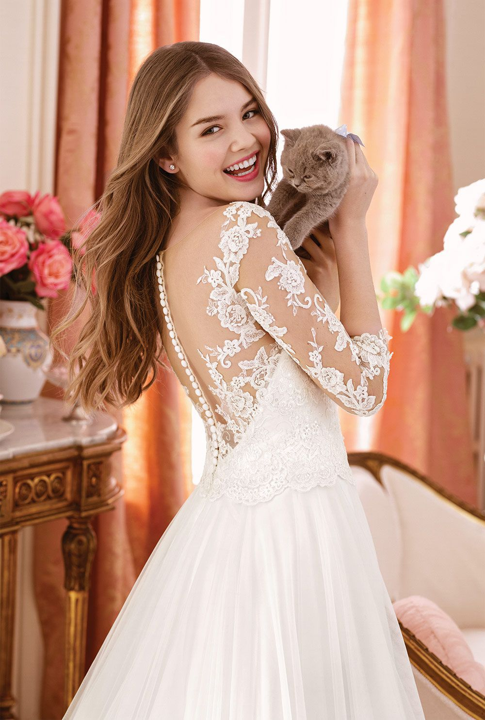 Sweetheart Gowns Style 11068 Tulle A-line Gown with Sequined Beaded Appliques