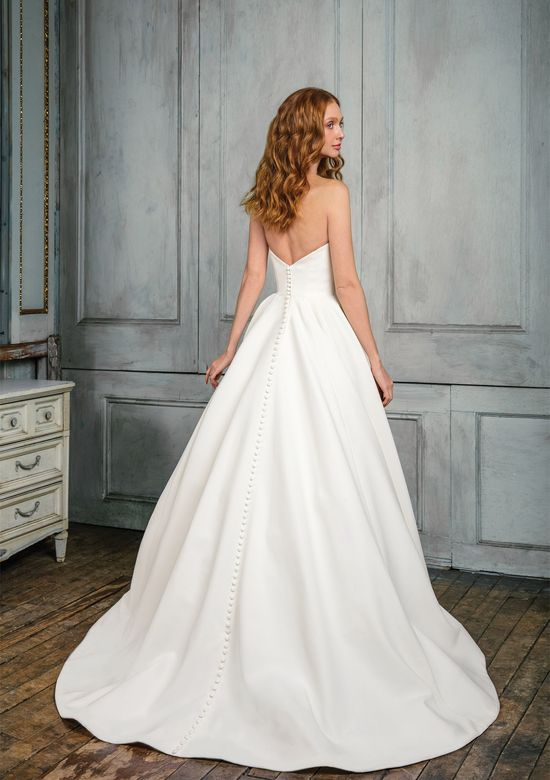 Justin Alexander Signature Style 99003 Crepe Sweetheart Ball Gown