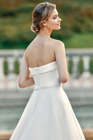 Sincerity style 44128 Satin and Organza Ball Gown