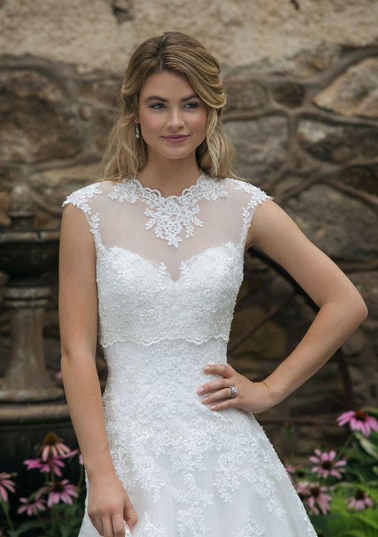 Sincerity Bridal Style 44050J High Neck Popover Jacket
