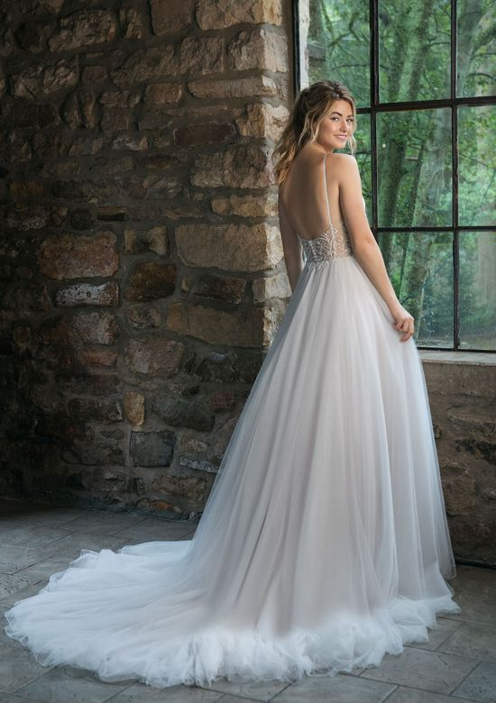 Sincerity Bridal Style 44069 Tulle Ball Gown with Beaded Illusion Back