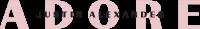 Adore by Justin Alexander logo black